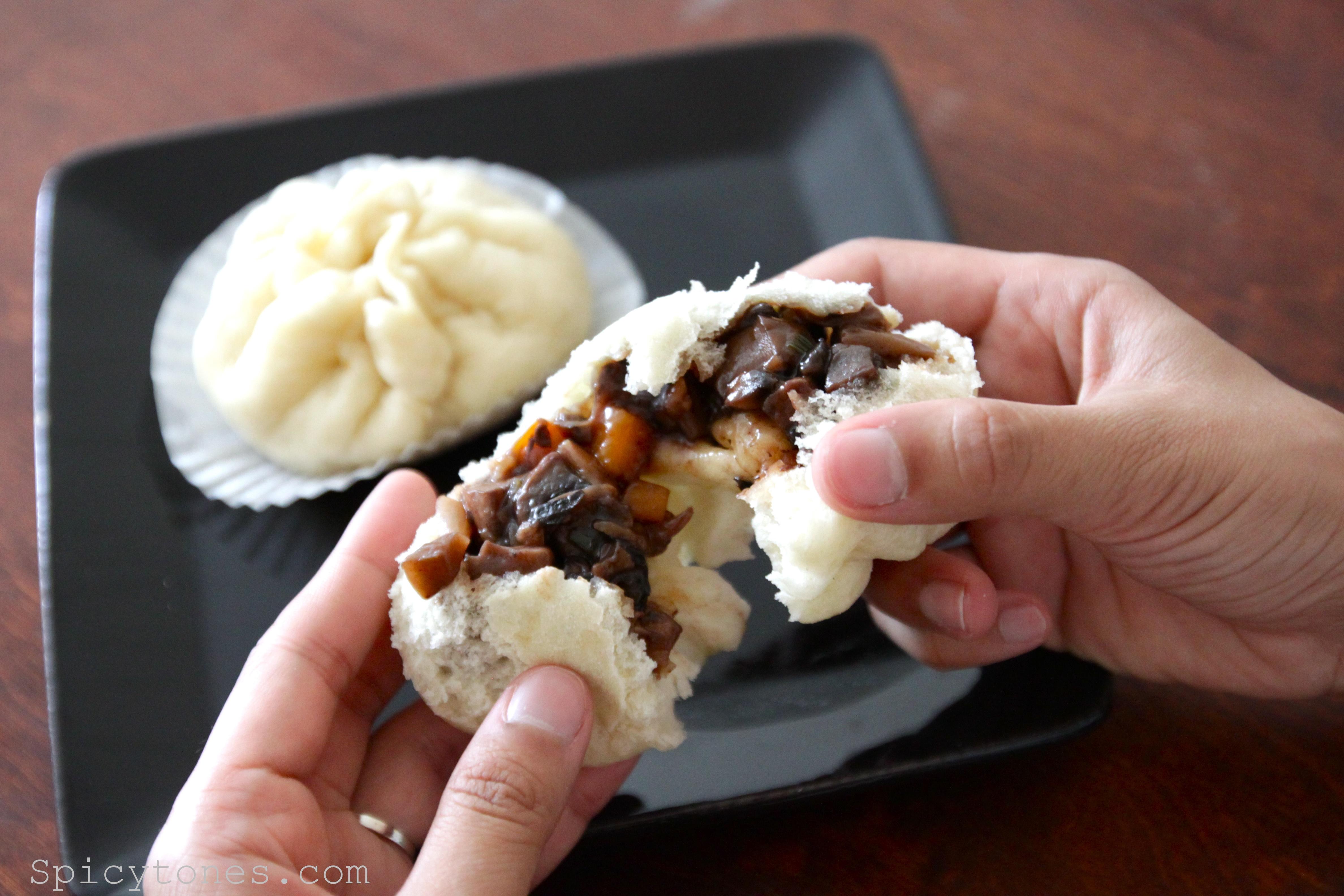 Chinese vegetarian steamed bun spicytones baozi4 forumfinder Choice Image