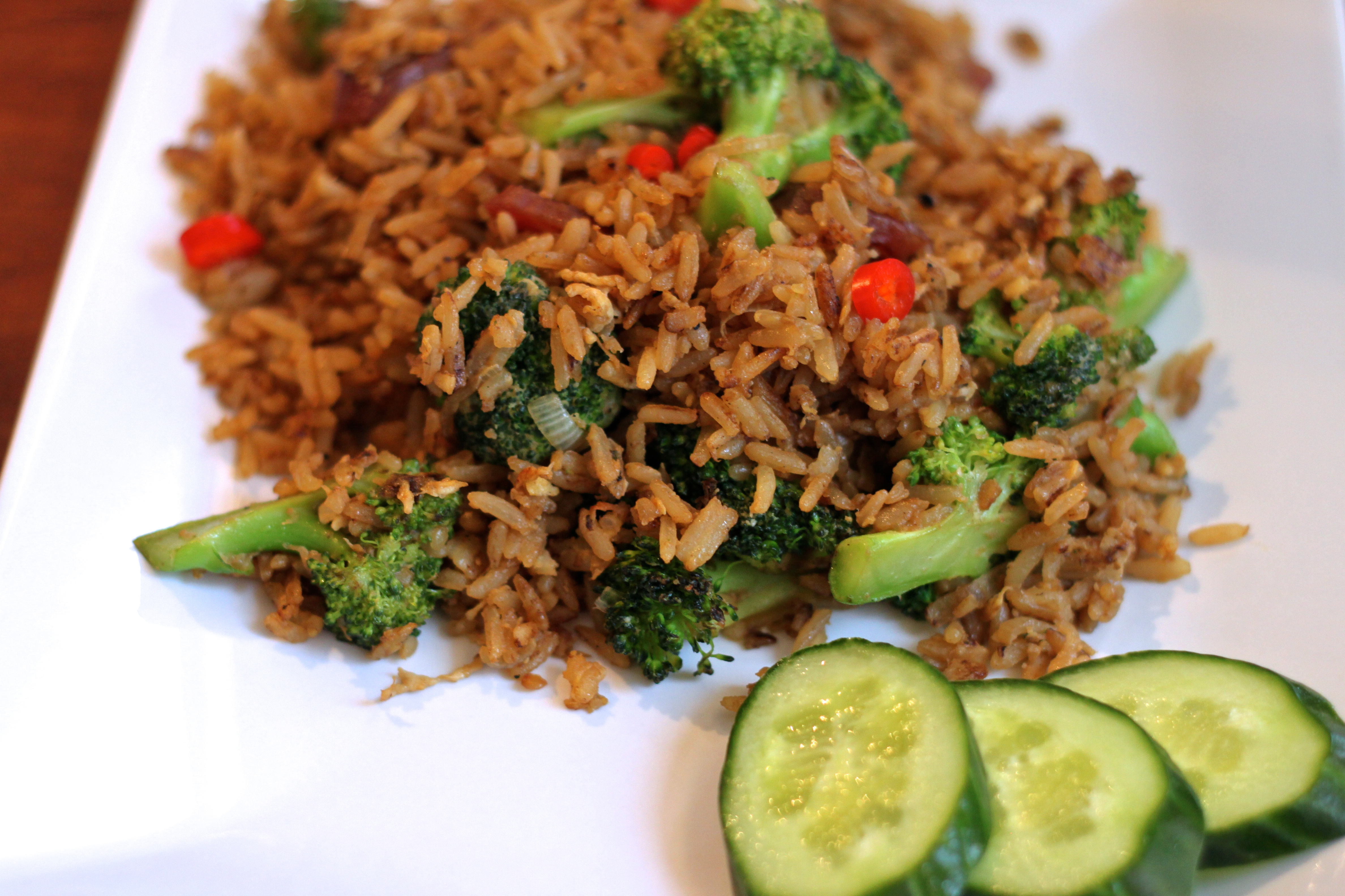 My first dish as a 13 year old simple egg fried rice spicytones fried rice 3 ccuart Image collections